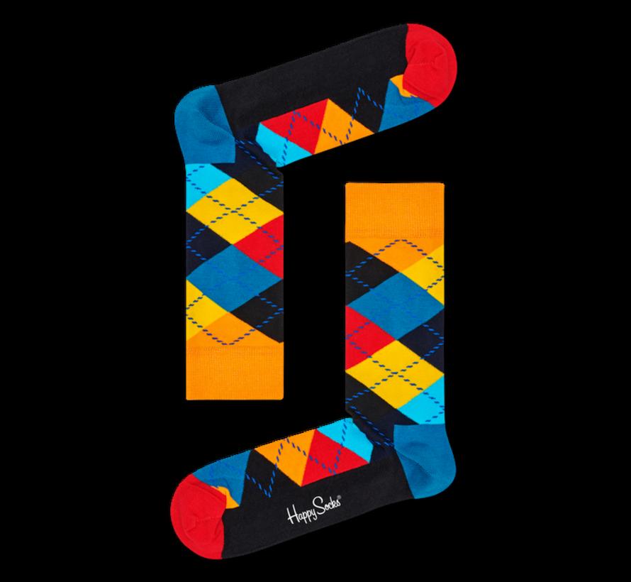 1pack Sokken Argyle Multicolour (ARY01 - 0100)