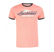 New Zealand Auckland T-shirt Korte Mouw Logo Neon Orange (19CN709 - 638)