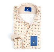 R2 Amsterdam overhemd print (100.WSP.44 - 045)