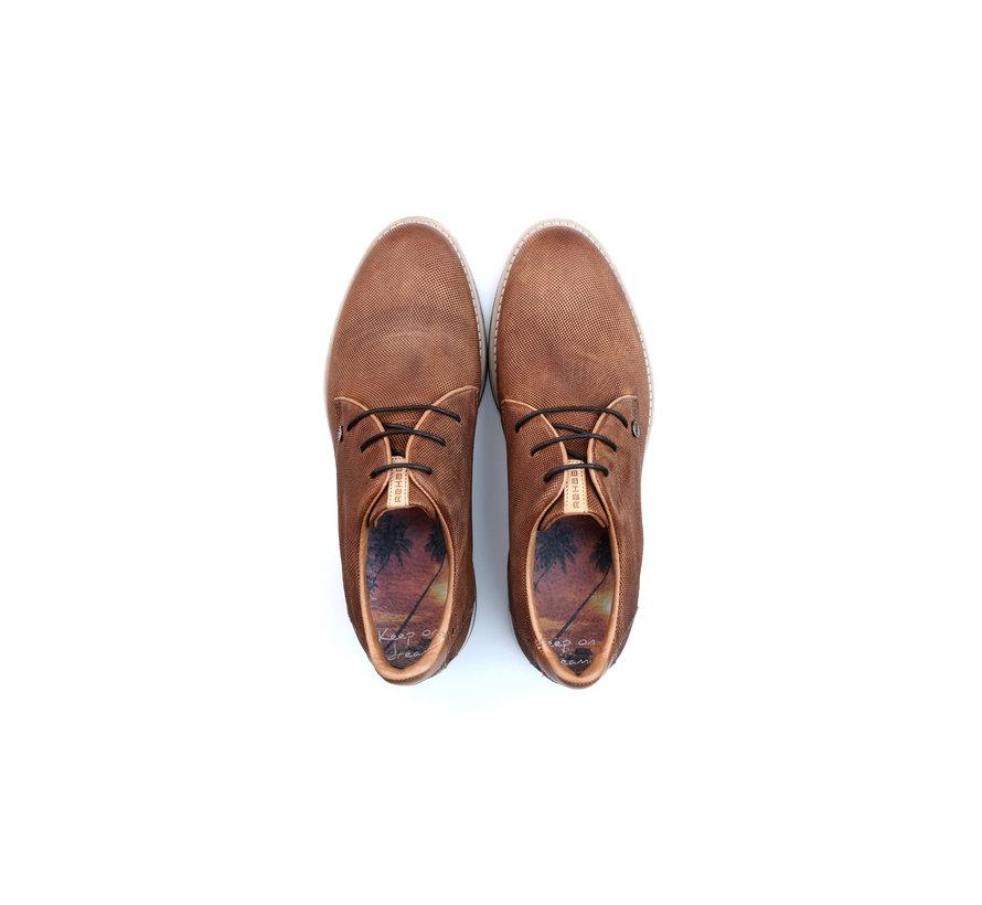 Schoenen Nolan Perfo Dark Cognac (1712 606202 - 5400)