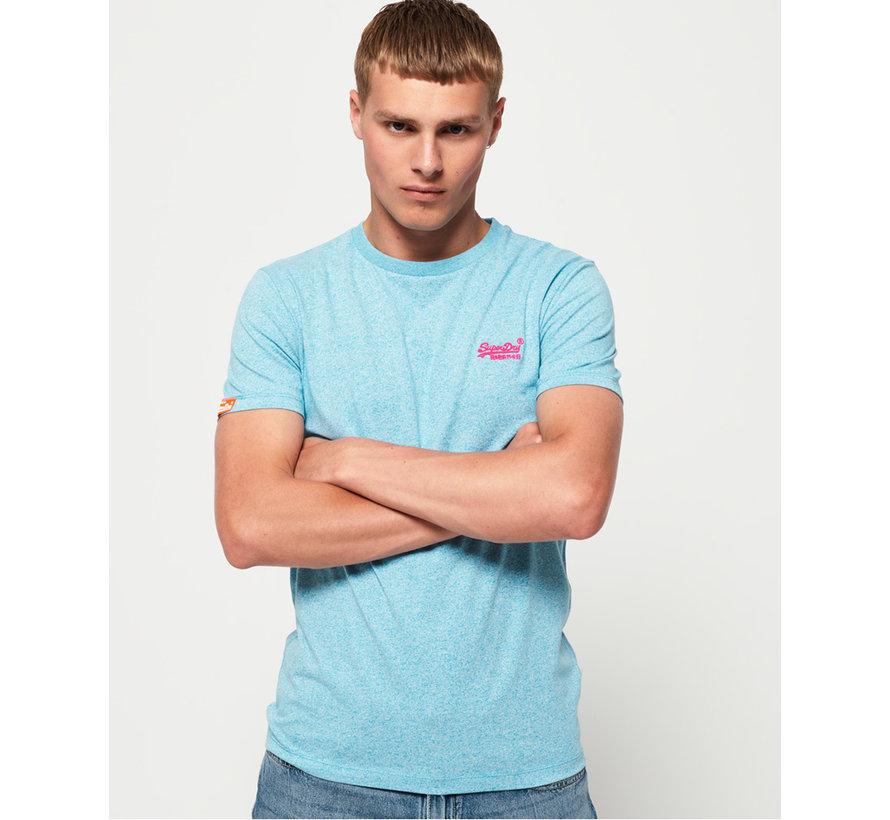 T-shirt Ronde Hals Blauw (M10164EU - R4U)