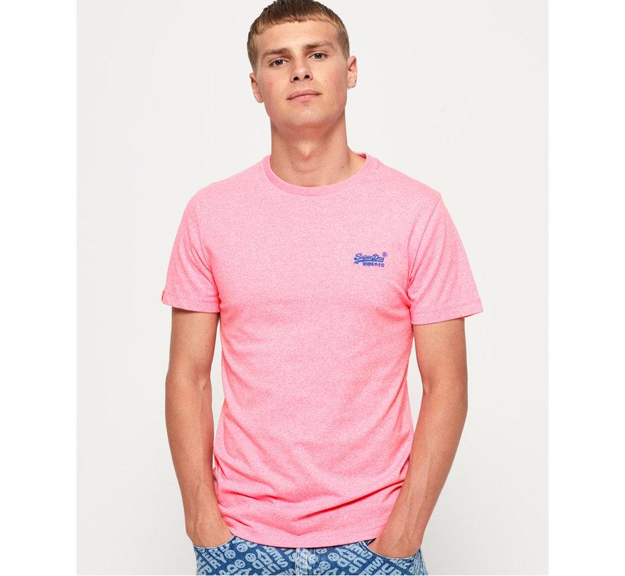 T-shirt Ronde Hals Roze (M10164EU - TQM)
