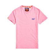 Superdry T-shirt Ronde Hals Roze (M10164EU - TQM)