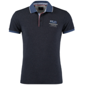 New Zealand Auckland Polo Korte Mouw Marine Blue (19CN117 - 282)