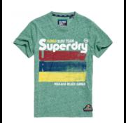 Superdry Superdry T-shirt Surf Team Groen (M10100IU - T4N)