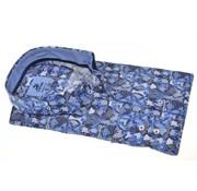 Culture Overhemd Modern Fit Print Blauw/Grijs (214940 - 33)