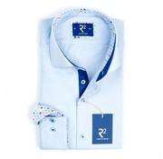 R2 Amsterdam Overhemd Extra Mouwlengte Blauw (100.WSP.XLS.02 - 018)