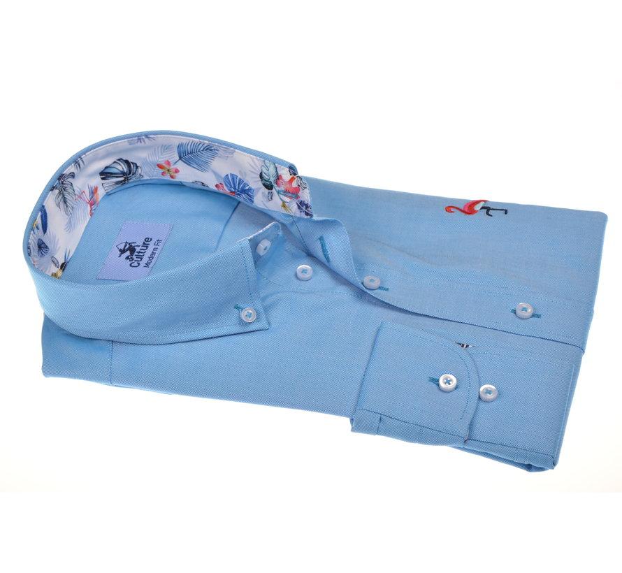 Overhemd Modern Fit Lichtblauw (214830 - 30)
