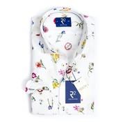 R2 Amsterdam Overhemd Extra Mouwlengte Print Multicolor (104.WSP.XLS.113 - 073)