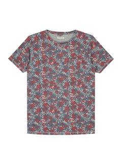 Dstrezzed T-shirt Print Grijs Mel. (202398 - 830)