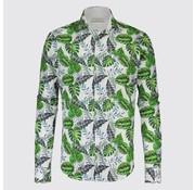 Jackett & Sons Overhemd Print Bladeren Groen (JS1908)