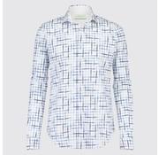 Jackett & Sons Overhemd Print Blauw (JS1916)