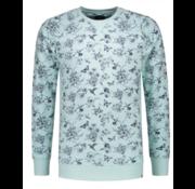Dstrezzed Sweater Print Groen (211240 - 521)