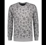 Dstrezzed Sweater Print Grijs (211240 - 830)
