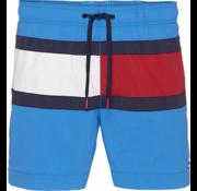 Tommy Hilfiger Drawstring Zwemshort Blauw (UM0UM01070 - 403)