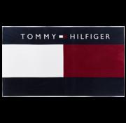Tommy Hilfiger Badhanddoek Logo Navy (UU0UU00018 - 416)