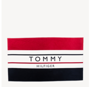 Tommy Hilfiger Badhanddoek Gestreept Rood (UU0UU00022 - 611)