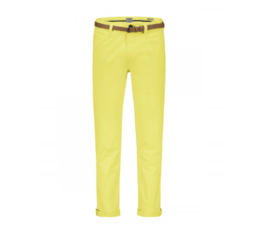 Chino Met Riem Stretch Yellow (501146 - SS19 - 330)
