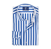 R2 Amsterdam Overhemd Streep Blauw/Wit (104.WSP.087 - 014)