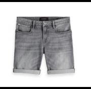 Scotch & Soda Slim Carrot Fit Korte Broek Jeans (150481 - 3077)
