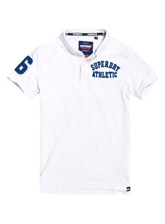 Superdry Polo Superstate Wit (M11008ET - 01C)