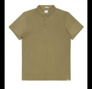Dstrezzed Polo Honeycomb Jersey Stretch Army Groen (202356 - 511)