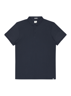 Dstrezzed Polo Honeycomb Jersey Stretch Navy (202356 - 669)