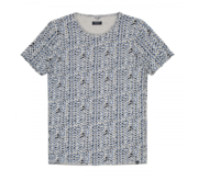 Dstrezzed T-shirt Print Grijs Melange (202375 - 893)