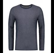 Dstrezzed Sweater Ronde Hals Gemêleerd Navy (404172 - 649)