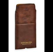 Scotch & Soda Leren iPhone 8 Sleeve Bruin (149205 - 0007)