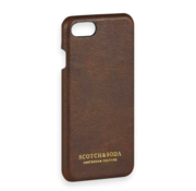 Scotch & Soda Leren iPhone 8 Hoesje Bruin (149211 - 0007)