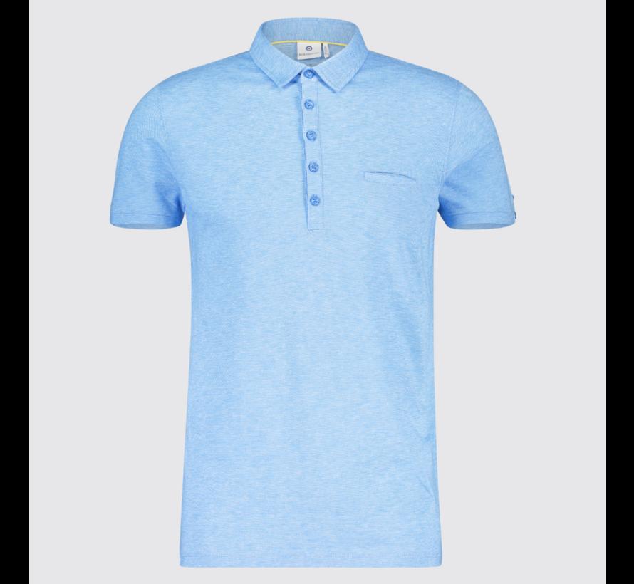 Polo Gemêleerd Blauw (KBIS19 - M29 - Blue)