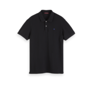 Scotch & Soda Polo Korte Mouw Zwart (152322 - 0005)