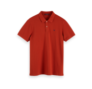 Scotch & Soda Polo Korte Mouw Roest (152322 - 2119)