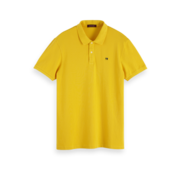 Scotch & Soda Polo Korte Mouw Geel (152322 - 3189)
