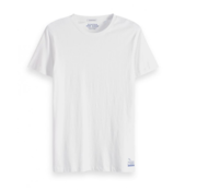 Scotch & Soda T-Shirt Effen Wit (149005 - 0006)