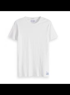 Scotch & Soda T-Shirt Effen Wit (149005 - 0006)