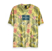 Scotch & Soda T-Shirt Tropisch Multicolor (149031 - 0217)