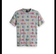 Scotch & Soda T-Shirt Letters Multicolor (149035 - 0606)