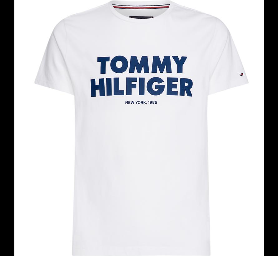 T-shirt Slim Fit Tee Wit (MW0MW09821 - 100)