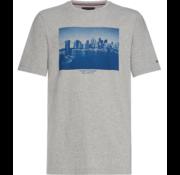 Tommy Hilfiger Tommy Hilfiger T-shirt Print Grijs (MW0MW10154 - 501)