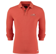 New Zealand Auckland Lange Mouw Polo Oranje (19AN202 - 638)