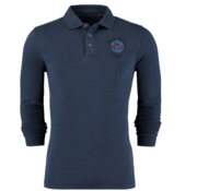 New Zealand Auckland Lange Mouw Polo Navy (19AN208 - 277)