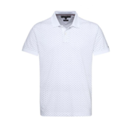Tommy Hilfiger Polo Wit Allover Print (MW0MW09737 - 100)