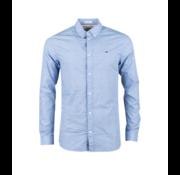 Tommy Hilfiger Overhemd Slim Fit Print Blauw (DM0DM07130 - VD6)