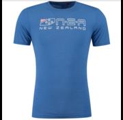 New Zealand Auckland T-shirt Darfield Logo Maori Blue (19DN701 - 258)