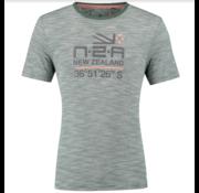 New Zealand Auckland T-shirt Mathias Streep Maori Green (19DN705 - 453)
