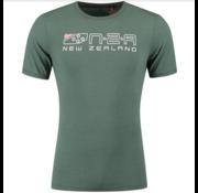 New Zealand Auckland T-shirt Darfield Logo Maori Green (19DN701 - 453)