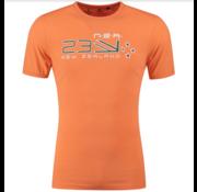 New Zealand Auckland T-shirt Darfield Logo Maori Orange (19DN701 - 698)
