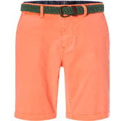 New Zealand Auckland Korte Broek met Riem Whale Bay Maori Orange (19DN600 - 698)